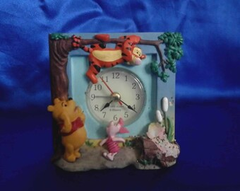 Vintage Winnie the Pooh Disney Clock