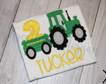 Tractor Birthday Shirt - Farm Birthday Shirt - Tractor First Birthday Shirt - Boys Tractor Birthday Shirt - Tractor Shirt