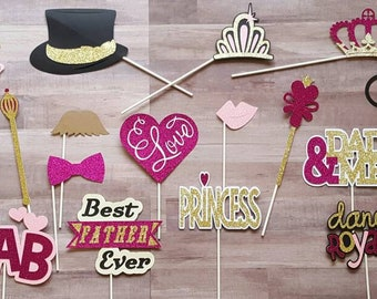 Father Daughter Dance Photo Booth Props