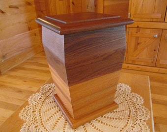 Handcrafted Wooden Cremation Urn