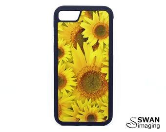 Sunflowers Phone Case ~ TPU Case ~ iPhone 5/5S, SE, 6/6S, 6/6S Plus, iPhone 7, 7 Plus ~ Samsung Galaxy S5, S6, S7, S7 Edge, S8, S8 Plus
