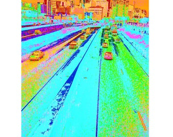 Minneapolis Psychedelicam by Joe Cunningham - iPhone defect photography zine