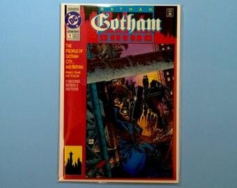 Batman Gotham Nights #1 Comic Book, (Grade NM) 1992, DC Comics Batman, B3