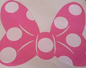 Decal, Minnie Bow, Large