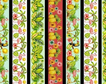 Pink Lady by Blank Quilting - Pink Lady Stripe - Cotton Woven Fabric