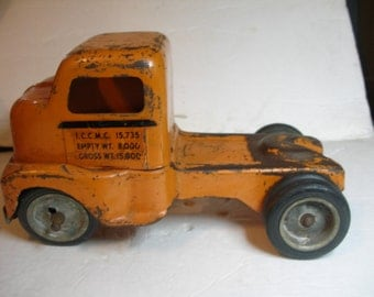 1950 TONKA Allied Van Lines Truck and Trailer