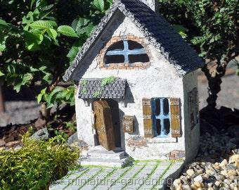 Mini Hollybrook Cottage for Miniature Garden, Fairy Garden
