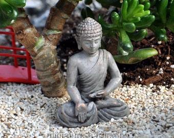 Blessings Buddha for Miniature Garden, Fairy Garden