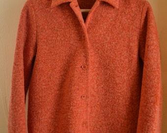 Vintage Orange Jacket,Chick,Shick,Bohemian