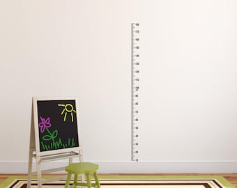 DIY Oversized Ruler Wall Decal - Growth Chart Ruler Wall Sticker