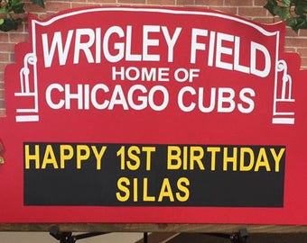 Chicago Cubs Marquee Letters