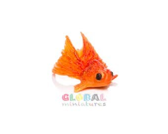 Dollhouse Miniatures Goldfish