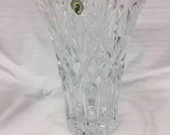 Waterford crystal 10' vase