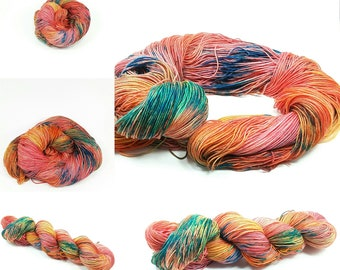 Superwash Sock Merino and Nylon in Yeah Spring! colorway