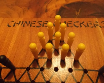 Vintage Drueke Chinese Checkers Game
