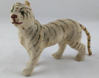 Vintage Tiger Figurine Mohair, Toy