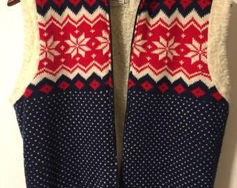Vintage ski vest