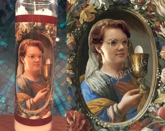 Saint Barb  /  Stranger Things Prayer Candle