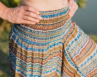 Women's Baggy Pants // Women Comfortable Pants // Women Meditation Pants // Festival Clothes  // Burning Man Clothes // Rave Pants