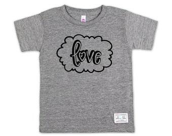 Love Cloud – Tri-Blend, T-Shirt, Kids clothing