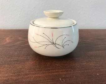 "Homer Laughlin ""Rhythm"" Sugar Bowl"