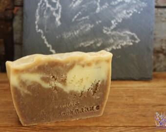 Handmade Hempseed Soap Bar, all natural, vegan, palm free, handcrafted