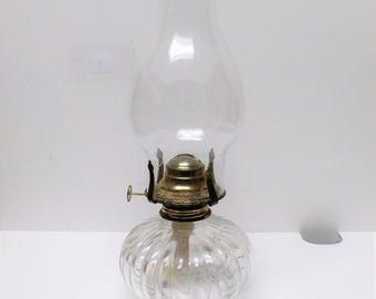 Lamplight Farms Model 330 Glass Hurricane Oil Lamp