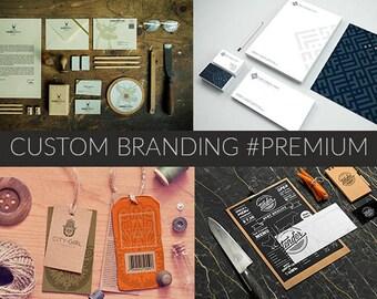 Custom Brand Design, Custom Branding, Branding Package, Brand Identity, Branding Kit, Business Branding, Custom Brand, Branding Design