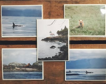 Pacific Northwest Blank Cards