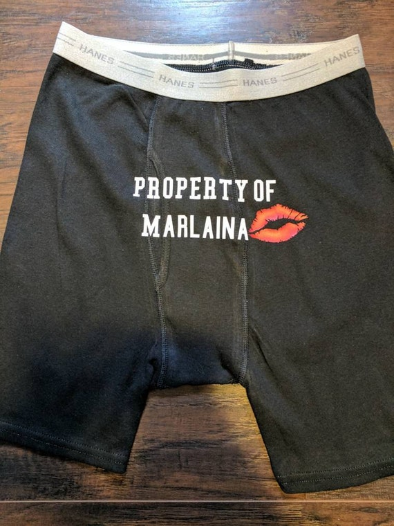 Property Of Mens Boxer Briefs Custom Boxer Briefs