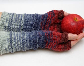 Knit Fingerless gloves fingerless Mittens Arm Warmers Wife Gift for Her gift for women Winter gloves Womens gift ideas Friend gifts for mom