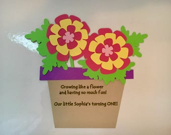 Flower Pot Baby Etsy