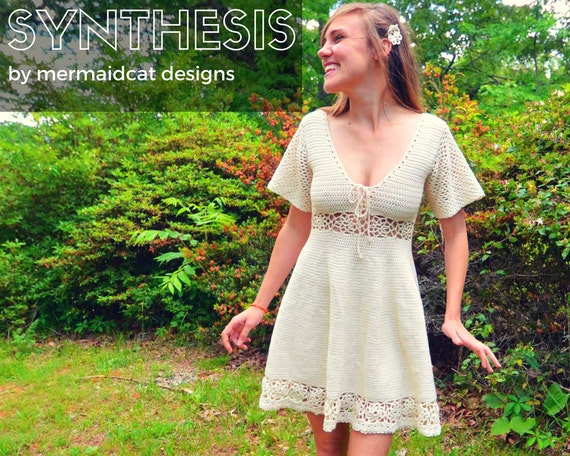 Crochet sun dress pattern - Synthesis