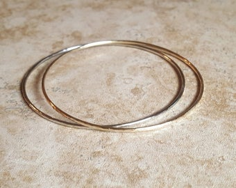 bangle bracelet / African jewelry / African style / brass bangle / silver bangle