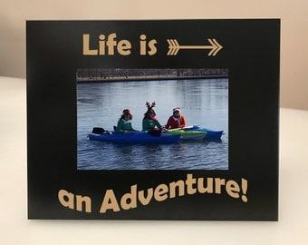Life is an Adventure Picture Frame