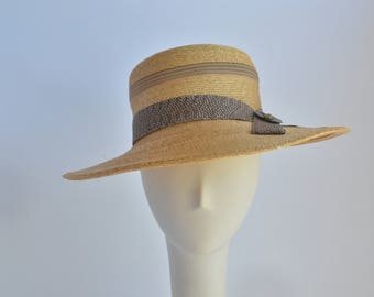 Small - Straw Wide Brim Sun Hat