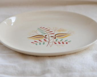 "Vintage 7"" Dessert Plates - Possibly TST - Set of Two - FREE SHIPPING"