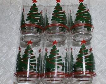Christmas glasses  Etsy