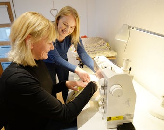 Learn to Sew and Make a Cushion Sewing Machine Basics Half Day Workshop in Cheshire