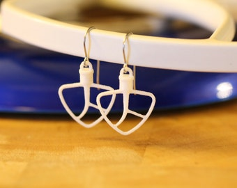 3D PRINTED KitchenAid Style Beater Earrings