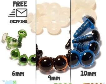 Amigurumi Crochet - Safety Eyes - Yeux de sécurité - Occhi di sicurezza - Sicherheitsaugen - Ojos de seguridad