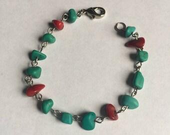 Southern Charm Chip Beaded Bracelet