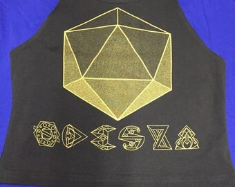 ODESZA Ladies Crop Top