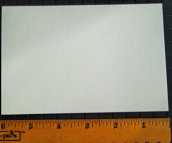 4 x 6 White Blank Postcards 100 lb Smooth Bristol Paper High