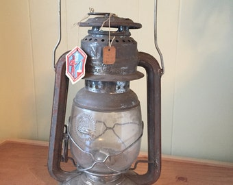 RARE~ Feuerhand Firehand Nier Nr. 280 Hurricane Lantern Greman,Never used with Original Tags!