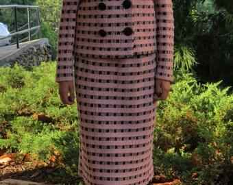 Vintage Castleberry Knit Suit