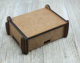 2.6 x 1.8 puzzle box, Short top