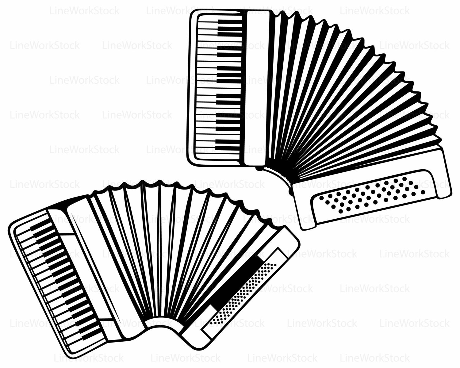 Accordion Svg Accordion Clipart Accordion Svg Accordion
