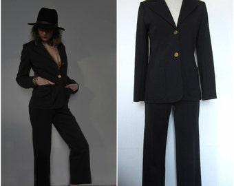 Black woman Tuxedo - 70s