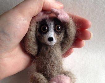 Baby Slow Loris ooak soft sculpture